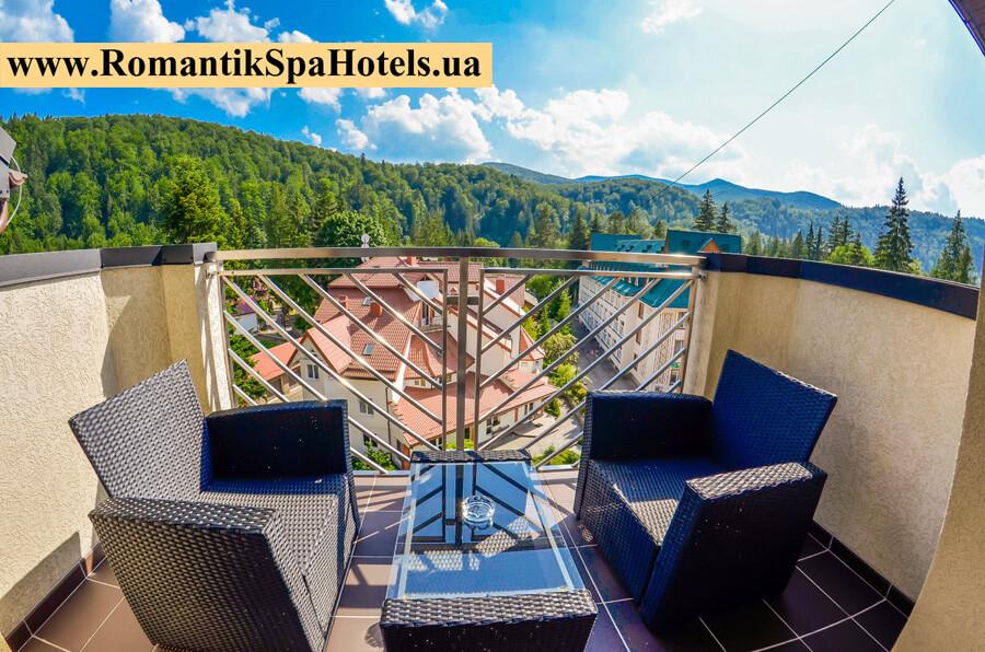 Готелі в Карпатах