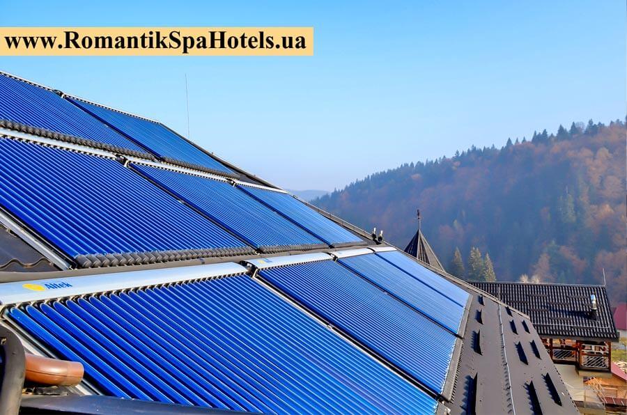 Сонячні вакуумні колектори
