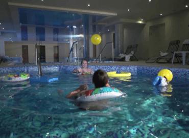 SPA. Pools, saunas, procedures.