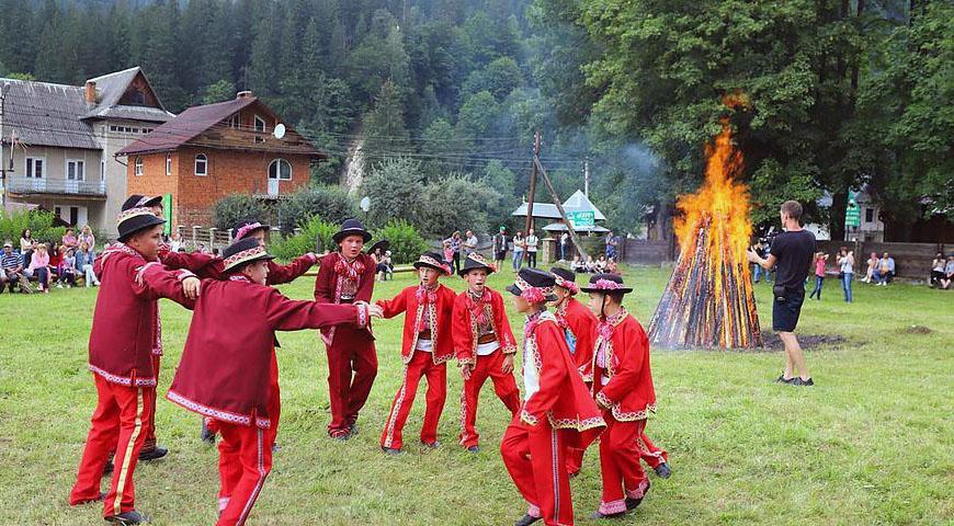 гуцульский народный танец аркан фото