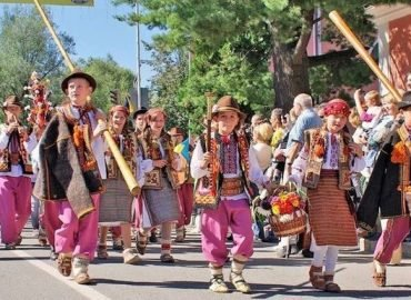 День города Яремче 2019. Первый открытый гуцульский карнавал.