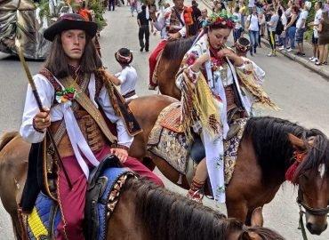 Как состоялся Первый открытый гуцульский карнавал в рамках дня города Яремче в 2019 году