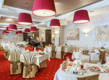 Гала-вечеря у Romantik Spa Hotel